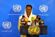 The United Nations Under-Secretary-General for Humanitarian Affairs and Emergency Relief Coordinator Valerie Amos
