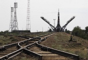 Photo: Russian Baikonur Cosmodrome located in Kazakhstan
