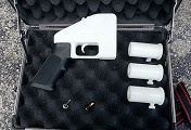 The first plastic firearm made with the use of a 3D printer (archive)