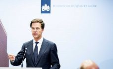 Dutch prime minister Mark Rutte addresses the press in The Hague, the Netherlands, 24 July 2014