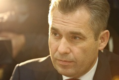 Russian children's rights ombudsman Pavel Astakhov