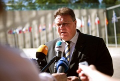 Lithuanian Foreign Minister Linas Linkevicius