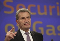 Energy Commissioner Guenther Oettinger