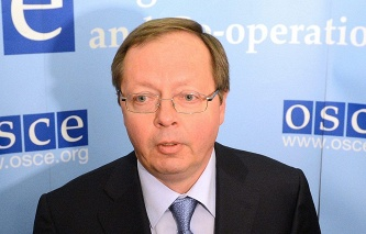 Russia's Ambassador to the OSCE Andrei Kelin