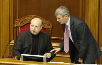 Oleksandr Turchinov (Left)