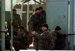 Russian special forces in Chechnya in 2000 (archive)