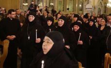 Released Syrian Greek Orthodox nuns