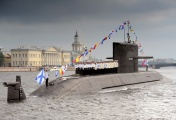 Diesel-electric submarine B-585 Sankt-Peterburg