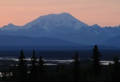 Mt. Foraker in Denali National park