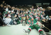 Gagarin Cup was introduced in the season of 2008/2009. The trophy is presented to the winner of the Kontinental Hockey League (KHL) playoffs. The first team to win it was Ak Bars from Kazan in 2009