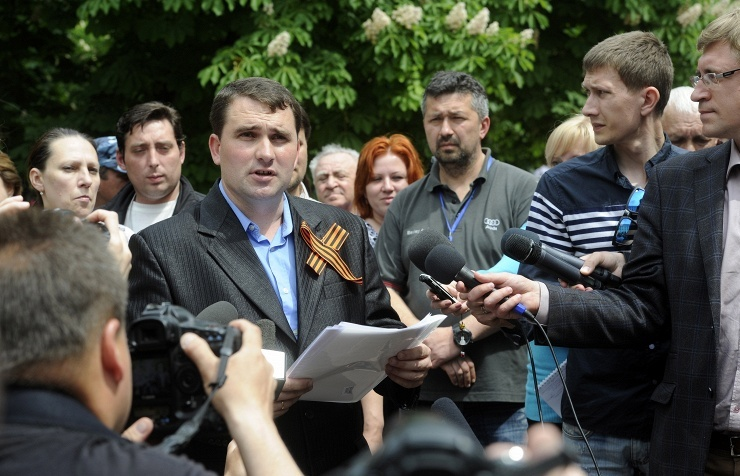 Head of Central Election Committee of the self-proclaimed Luhansk People's Republic Alexander Malykhin