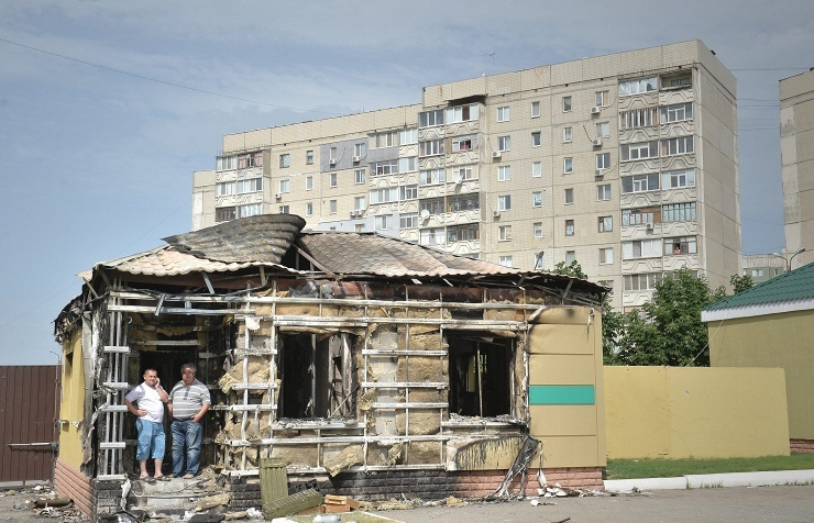 Archive. Luhansk, June 4, 2014
